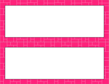 Blank Poster Templates - 11x4.25 Basics: Mosaic