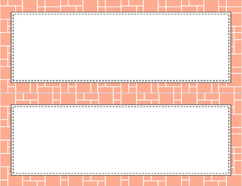 Blank Poster Templates (11x4.25) Essentials & White: Mosaic