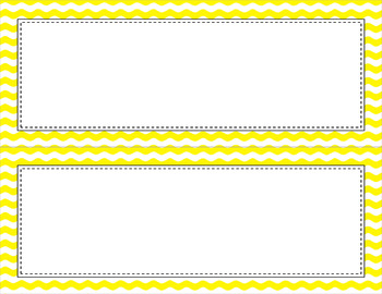 Blank Poster Templates (11x4.25) Essentials & White: Waves