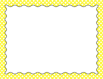 Blank Poster Templates (11x8.5) Essentials & White: Circle Diamonds (Inverted)