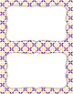 Blank Poster Templates (5.5x8.5) Dual-Color Collection: Pansy