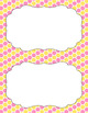 Blank Poster Templates (5.5x8.5) Dual-Color Collection: Pink Lemonade