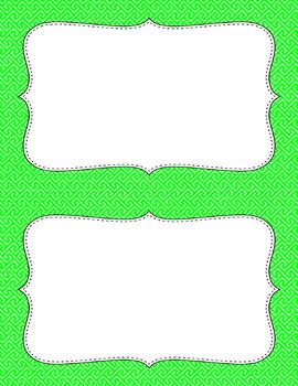 Blank Poster Templates (5.5x8.5) Essentials: Brick Path