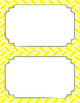 Blank Poster Templates (5.5x8.5) Essentials: Divided Chevron