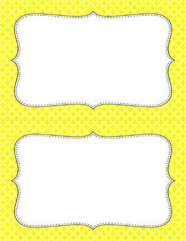 Blank Poster Templates (5.5x8.5) Essentials: Circle Diamonds