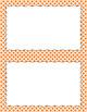 Blank Poster Templates (5.5x8.5) Essentials & White: Circle Diamonds