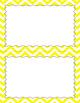 Blank Poster Templates (5.5x8.5) Essentials & White: Jumbo Chevron