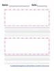Blank writing paper with picture box research paper subjects