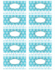Blank Punch Cards - 3.5 x 2 - 300dpi - 10 Colors + Printable Sheets