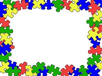 Blank Puzzle Backgrounds