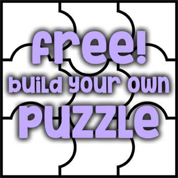Free! Blank Puzzle Pieces