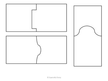 Blank Puzzle Pieces