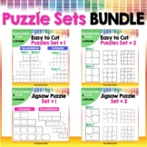 Blank Puzzle Templates Bundle