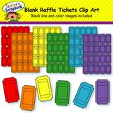 Blank Raffle Tickets Clip Art