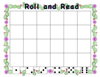Blank Roll and Read-Cactus Theme