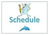 Blank Schedule (Editable)