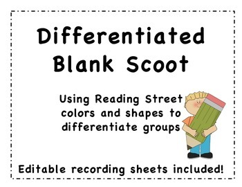 Differentiated Blank Scoot