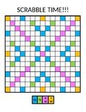 Blank Scrabble Board