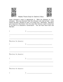 Blank Script for Readers Theater