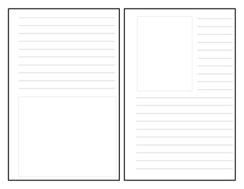 Blank Short Story Pages