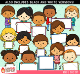 Blank Sign Kids Clipart
