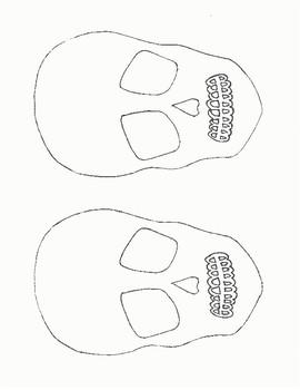 Blank Skulls to make Sugar Skulls