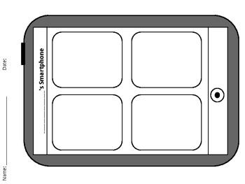 Blank Smart Phone (Students Design Apps)