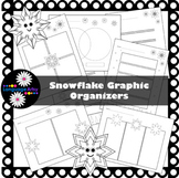 Graphic Organizers, Snowflake Theme