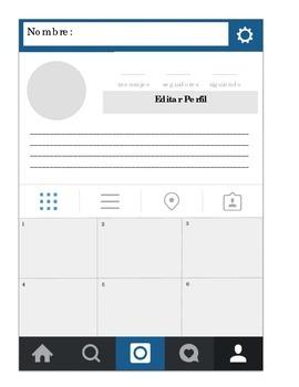 Blank Social Media profile in Spanish; ser vs estar or any