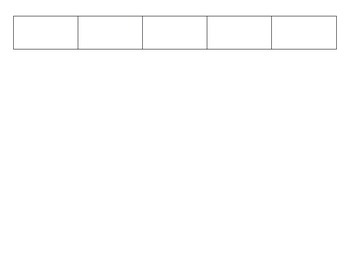 "Blank Spanish BINGO Board / ""BRAVO"" - For Any Vocabulary or Grammar Review!"