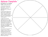 Blank Spinner Template & Arrows