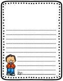 Blank Standard Writing Template