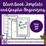 Blank Story Template, Spanish, Graphic Organizer, Writing,