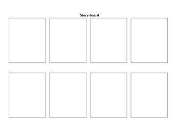 Blank Story and Storyboard
