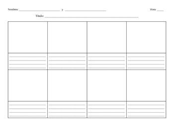 Blank Storyboard