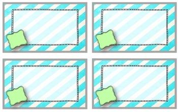 Blank Classroom Library Labels - Editable