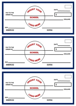Blank Student Check Templates