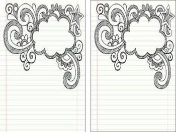 Blank Student Writing Journal