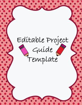 Blank Student Project Guide