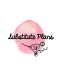 Blank Substitute Plans