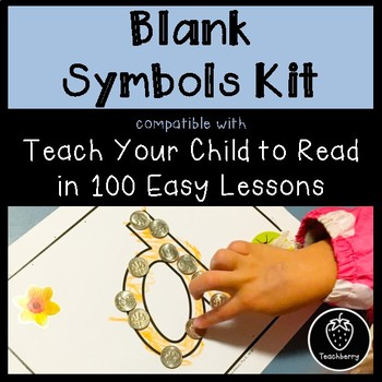 Blank Symbols Kit - Compatible with Teach Your Child to Read in 100 Easy Lessons