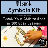 Blank Symbols Kit - Compatible with Teach Your Child to Re