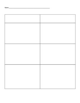 photo regarding Blank Chart Template identify Blank T-chart Worksheets Coaching Elements Lecturers Pay back