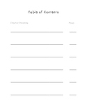 Table of Contents Paper