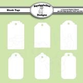 Blank Tags Clip Art