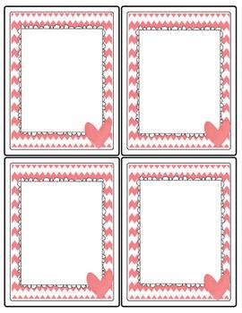Blank Task Card Designs