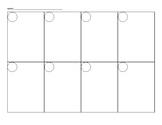 Blank Task Card Recording Sheet