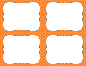 Blank Task Cards - Basics: Circle Diamonds | Editable PowerPoint