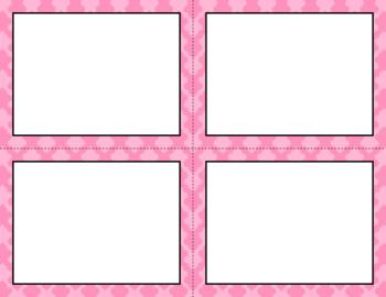 Blank Task Cards - Basics: Clubs | Editable PowerPoint