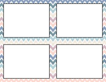 Blank Task Cards: Beach Sunrise | Editable PowerPoint